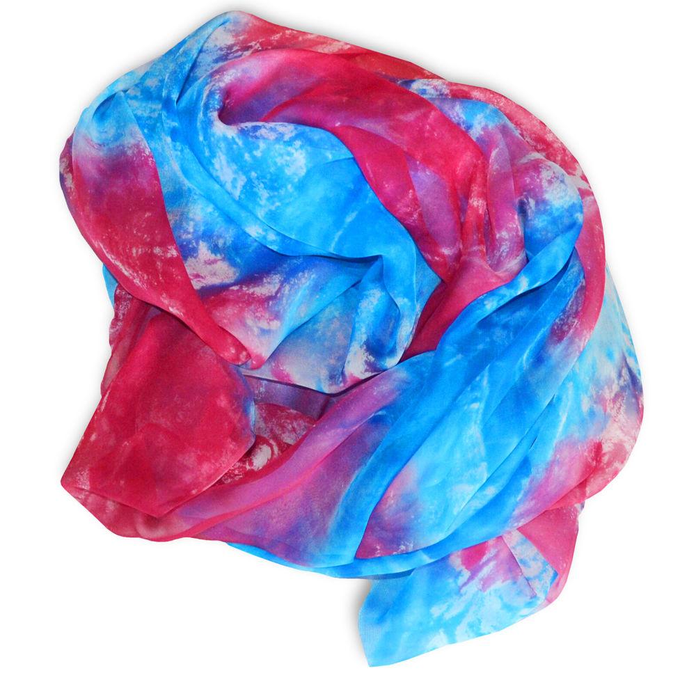 мастер класс батик, батик шарф шелковый