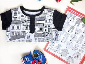 Базовый гардероб ребёнка | Ярмарка Мастеров - ручная работа, handmade