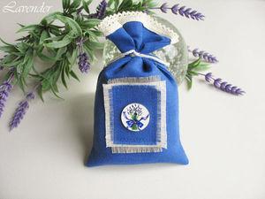 Саше с лавандой - чудесный подарок на 8 марта!. Ярмарка Мастеров - ручная работа, handmade.