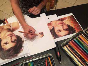 ИНТЕНСИВ «Портрет цветными карандашами» в стиле Реализм! С нуля до портрета!   Ярмарка Мастеров - ручная работа, handmade