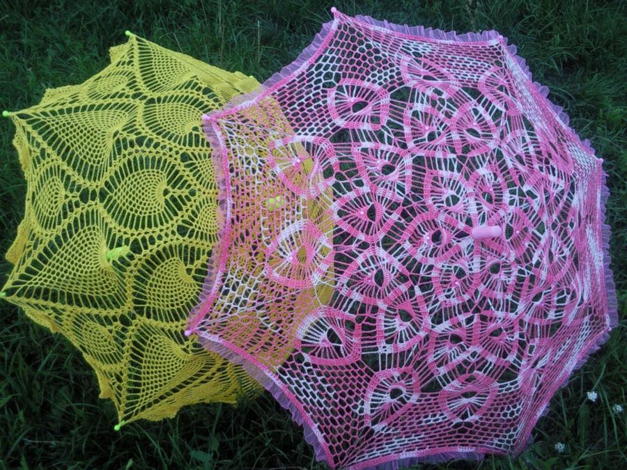 openwork umbrellas