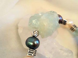 """Браслет """"Голубой кристалл""""! Представляем!. Ярмарка Мастеров - ручная работа, handmade."""