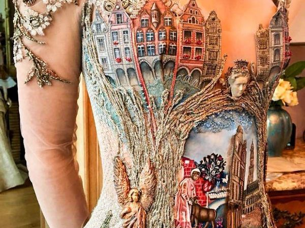 Платья как произведения искусства. Ярмарка Мастеров - ручная работа, handmade.