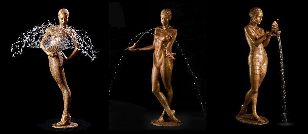 танец в скульптуре