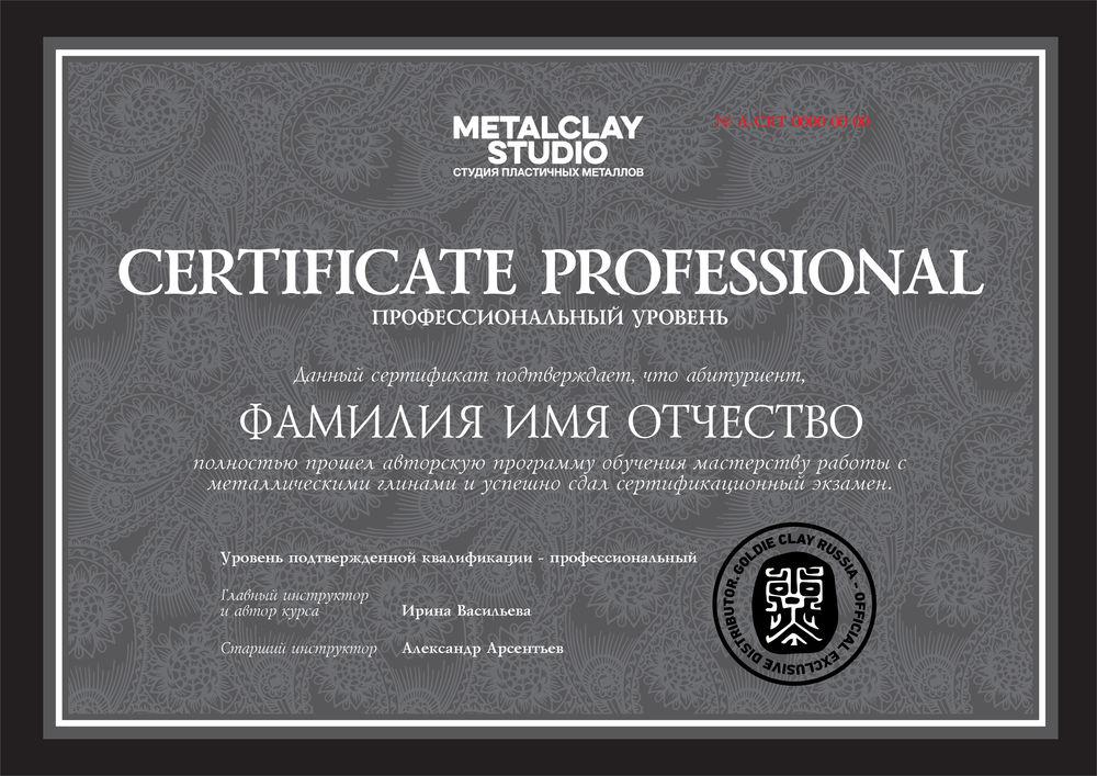 металклэй, учебный класс, сертификационный курс