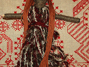 Kids' Craft Project: Making a Folk Friday Doll of Threads. Livemaster - handmade