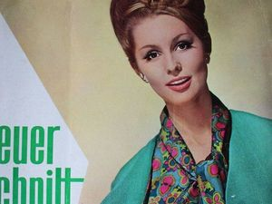 Neuer Schnitt — старый немецкий журнал мод 4/1963. Ярмарка Мастеров - ручная работа, handmade.