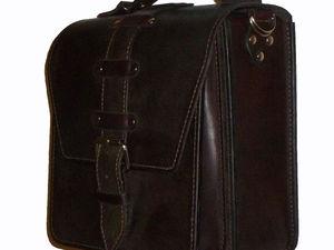 Шьем сами мужскую сумку. Ярмарка Мастеров - ручная работа, handmade.