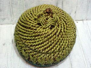 Мастерим колосок в технике плетение корнем. Ярмарка Мастеров - ручная работа, handmade.