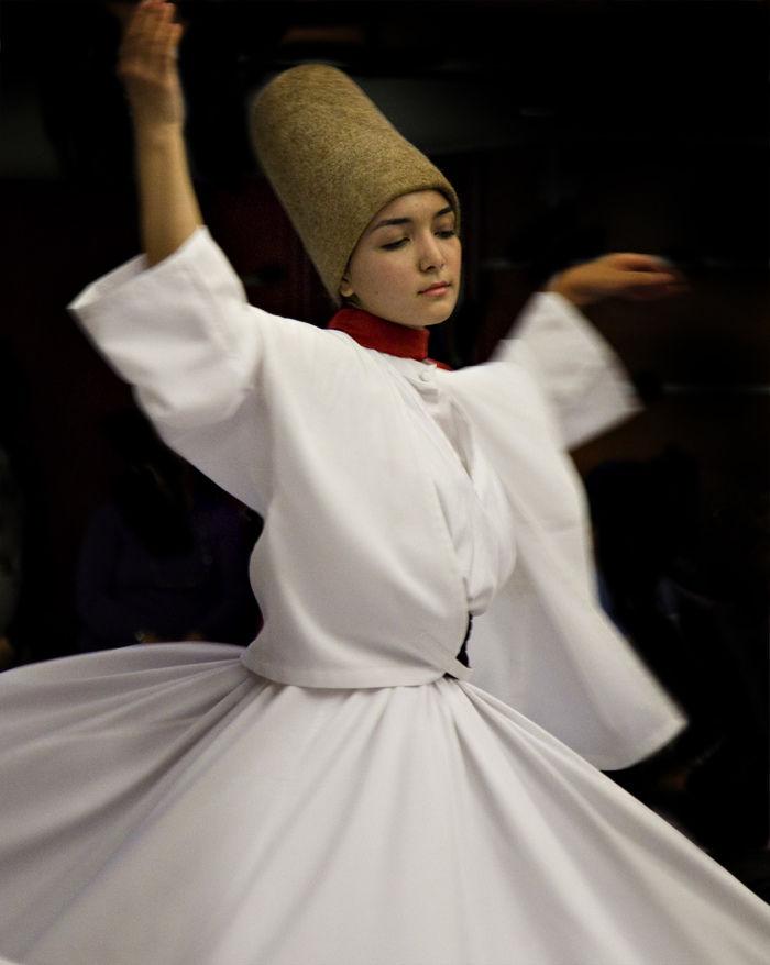 суфийские кружения, винтаж