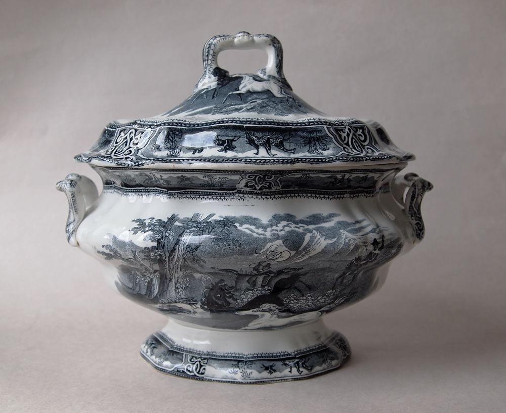 Английская супница середины XIX века, дополнительные фотографии, фото № 1