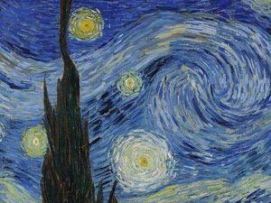 """Интересные факты о картине """"Звездная ночь"""" Винсента Ван Гога. Ярмарка Мастеров - ручная работа, handmade."""