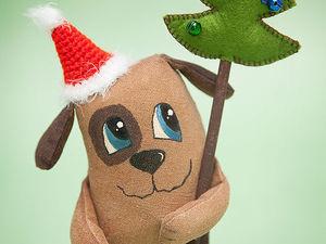 Шьём кофейную собачку к Новому году. Ярмарка Мастеров - ручная работа, handmade.