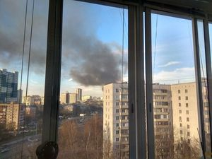 Небо над Москвой сегодня. Ярмарка Мастеров - ручная работа, handmade.