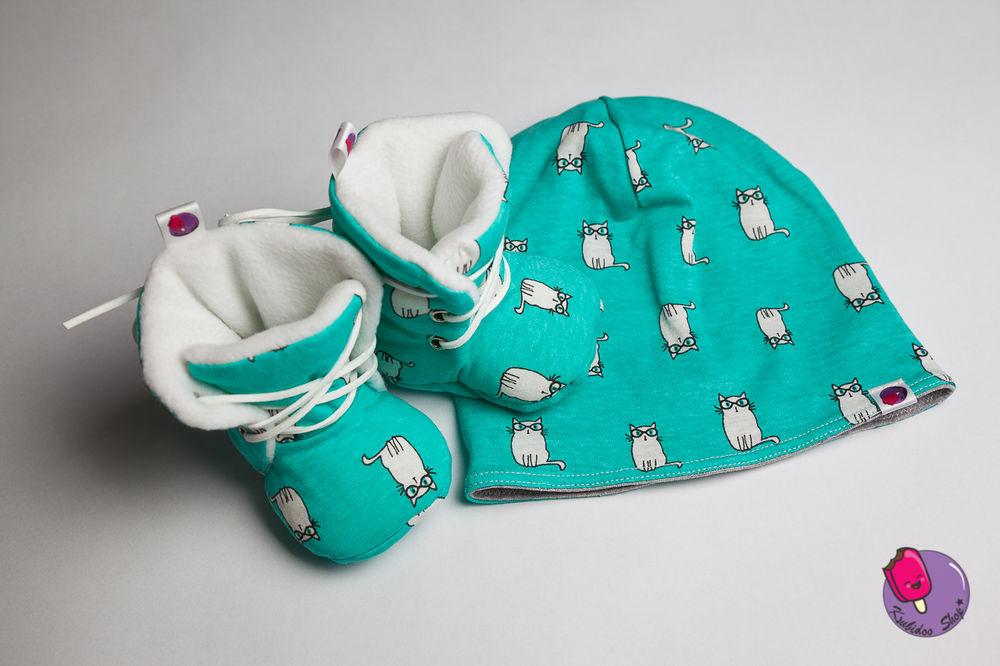 повязка, теплые ботинки