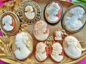 Скоро в моём магазине появится много красивых камей в оправе и без неё, не пропустите!. Ярмарка Мастеров - ручная работа, handmade.