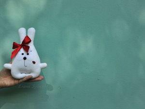 Новая работа — Зая Бусинка. Ярмарка Мастеров - ручная работа, handmade.