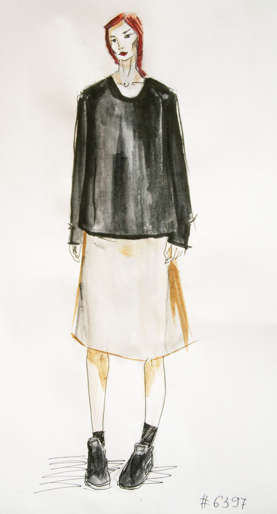 fashion рисунок