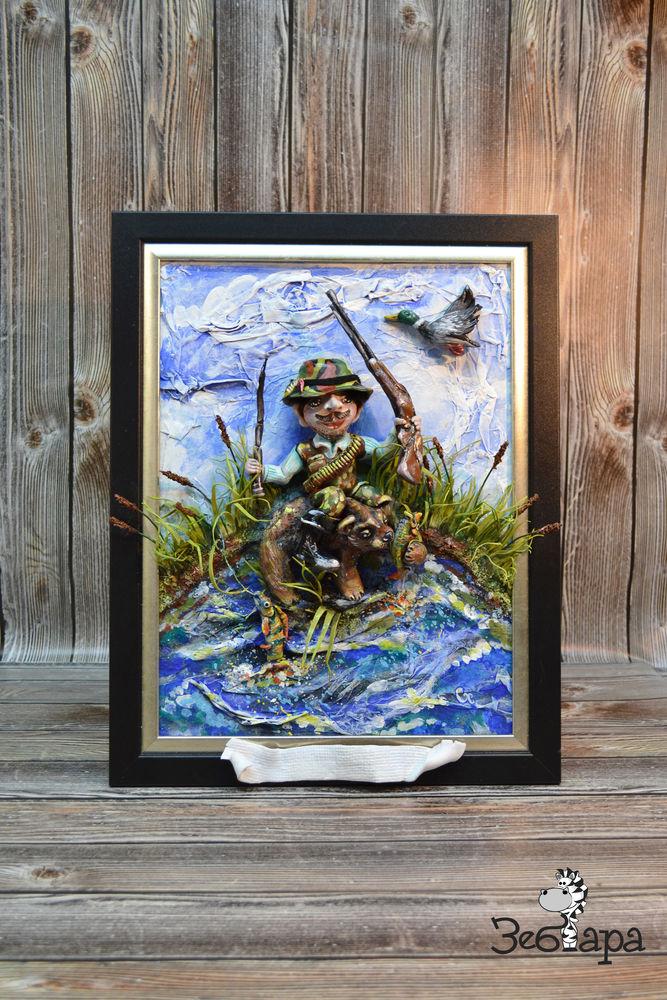 подарок рыболову, охота на уток