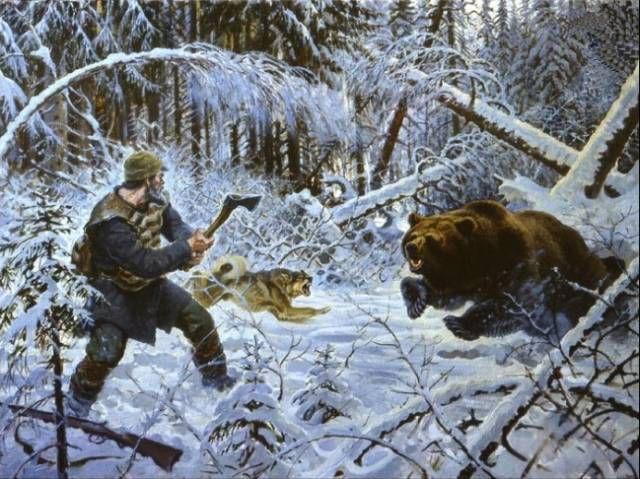 символ медведь