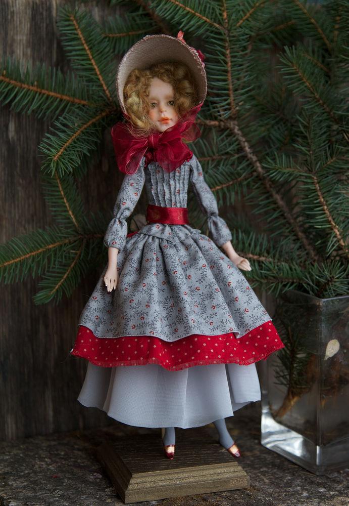Дополнительные фотографии куклы ручной работы Софии., фото № 7