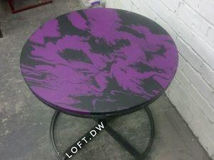 Кофейный столик в стиле лофт. Ярмарка Мастеров - ручная работа, handmade.