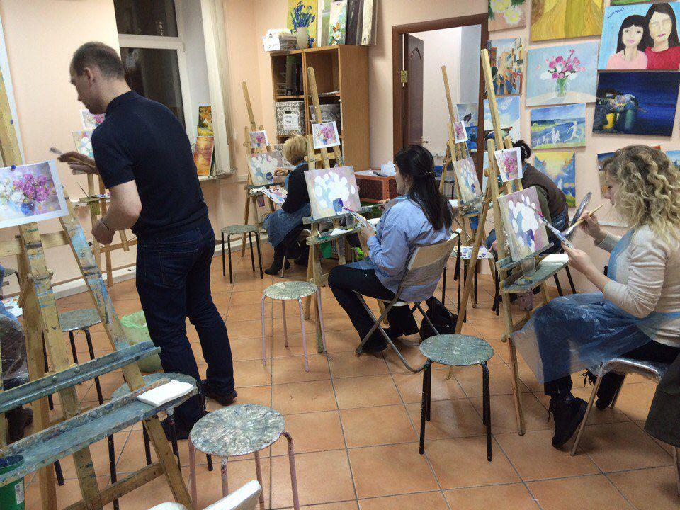 уроки рисования, обучение живописи, рисование для взрослых, рисование для начинающих