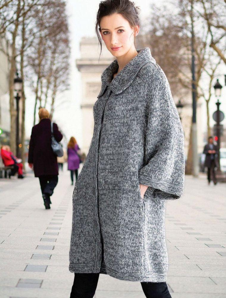 вязаная мода зима 2017 2018 пальто свитера кардиганы и другие