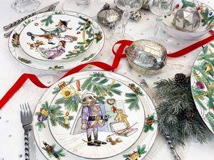 Щелкунчик Новогодний сервиз. Ярмарка Мастеров - ручная работа, handmade.