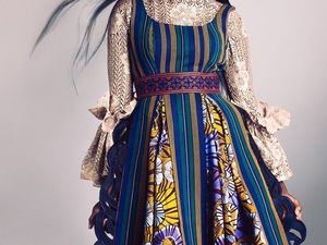 Яркое сочетание современности и традиций в коллекциях африканского бренда Christie Brown | Ярмарка Мастеров - ручная работа, handmade