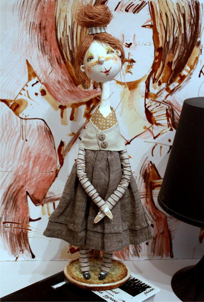 коллекционная кукла, куклы галины докучаевой