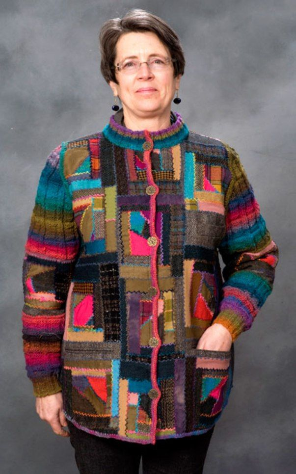 Необычные жакеты Cindy Hoppe. Продолжение