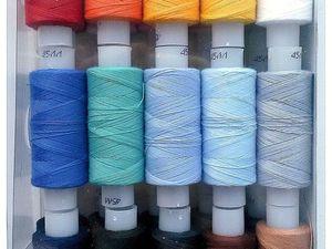 Поступила новинка! НИТКИ для шитья!. Ярмарка Мастеров - ручная работа, handmade.
