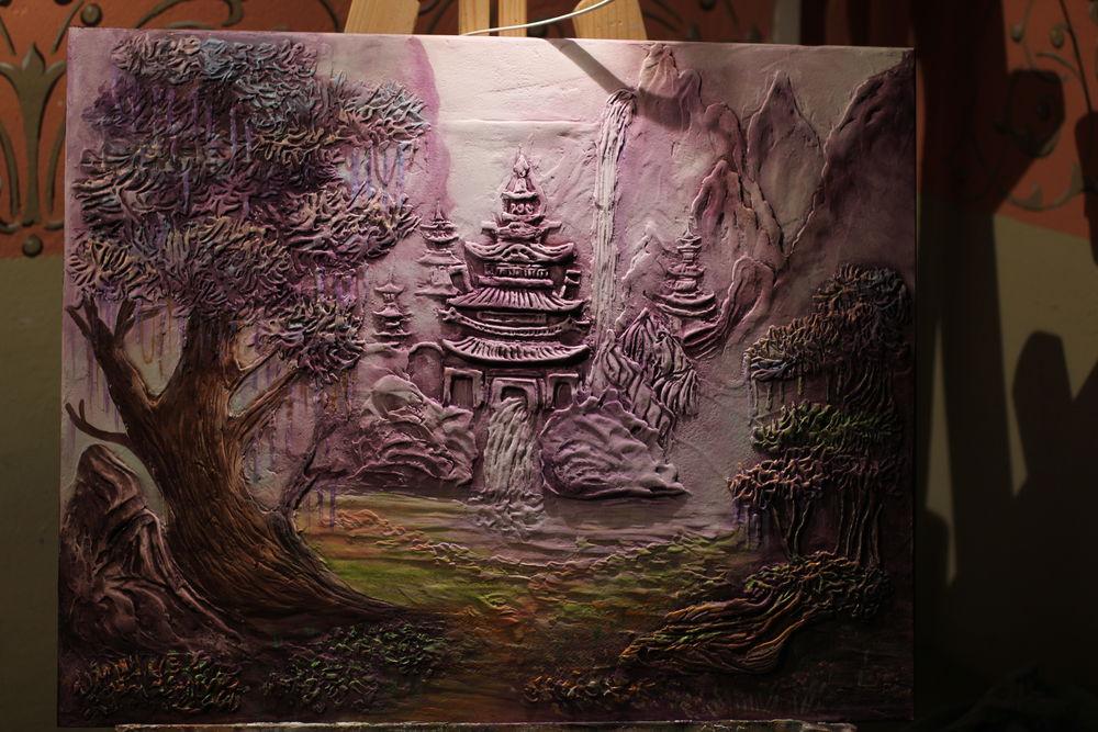 Мастер-класс  « Объемная живопись», фото № 10