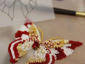 Новая бабочка. Ярмарка Мастеров - ручная работа, handmade.