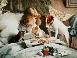 Добрые картины английского художника Charles Burton Barber ..... Ярмарка Мастеров - ручная работа, handmade.