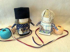 Мастерим знатную парочку Богатея и Зернушку. Ярмарка Мастеров - ручная работа, handmade.