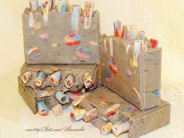 мыло с грязью Мертвого Моря | Ярмарка Мастеров - ручная работа, handmade