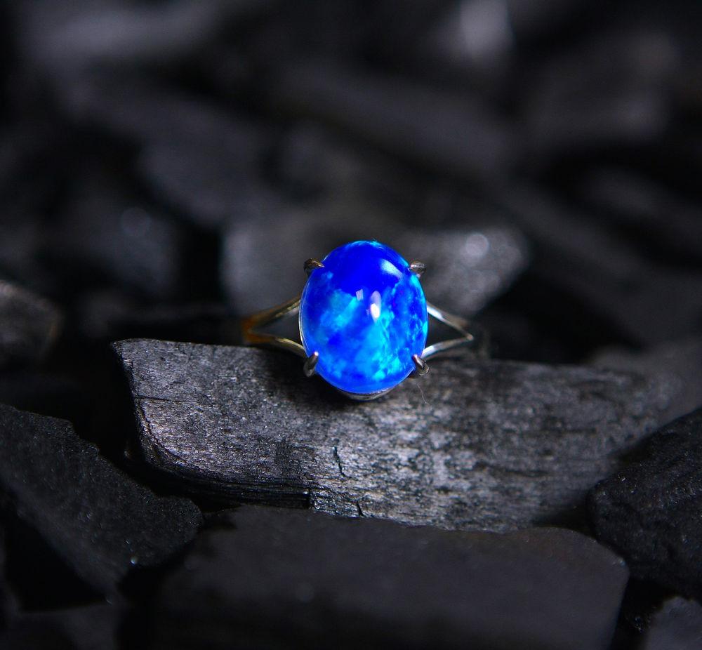 опал, кольцо с опалом