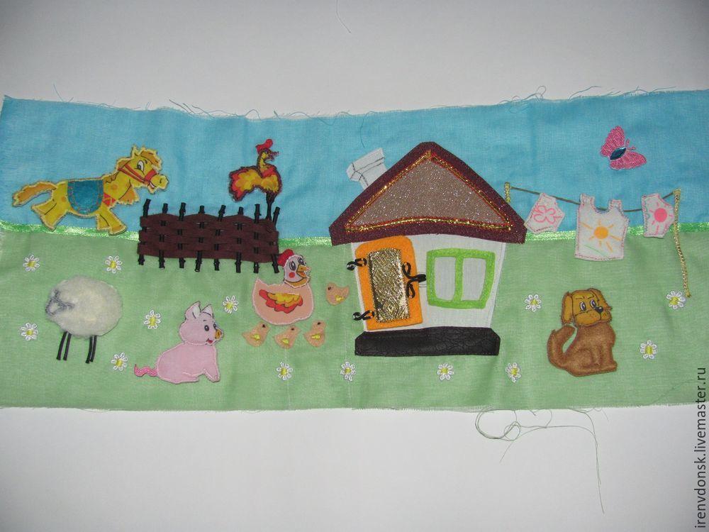 В подарок малышу: делаем развивающий коврик-трансформер. Часть 1, фото № 5