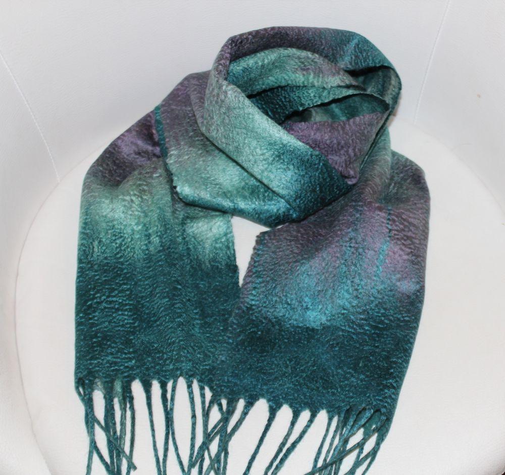 войлок для новичков, шарф женский