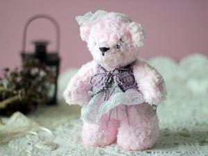 Аукцион дня! Медвежонок девочка- Маруся :) | Ярмарка Мастеров - ручная работа, handmade