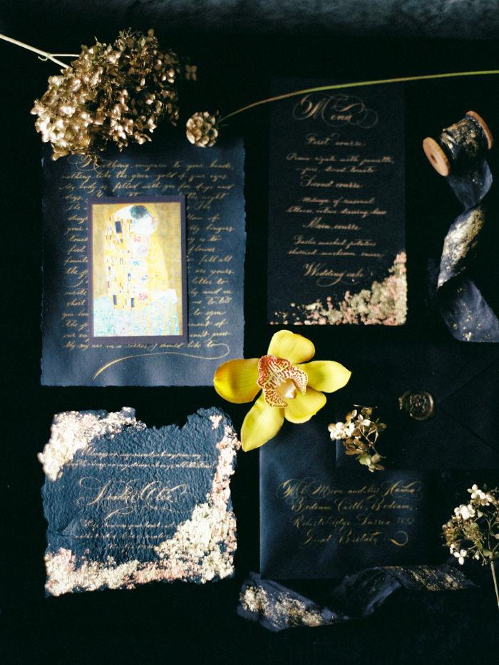 тематическая свадьба, романтичная картина