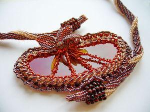 Аукцион на 8 лотов: украшения из бисера. | Ярмарка Мастеров - ручная работа, handmade