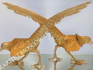 Фазан птица пара охота бронза латунь золото 1. Ярмарка Мастеров - ручная работа, handmade.