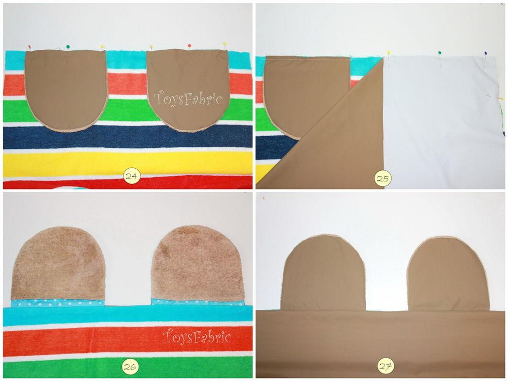 手工布艺教程:沙滩垫子与背包袋 - maomao - 我随心动