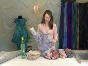 Видеокурс: «Платье в технике «nunofelting» с идеальной посадкой по фигуре». Ярмарка Мастеров - ручная работа, handmade.