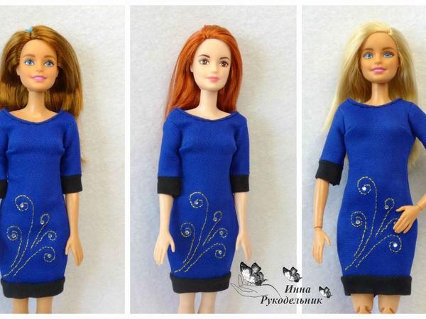 Как сделать платье для куклы барби фото 447
