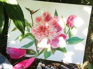 На что меня вдохновил бабушкин сад. Ярмарка Мастеров - ручная работа, handmade.