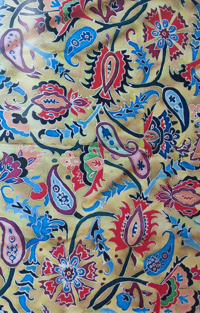 орнамент грузия, роспись ткани история